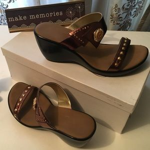 GORG Onex sexy rhinestone sandal super glam size 7